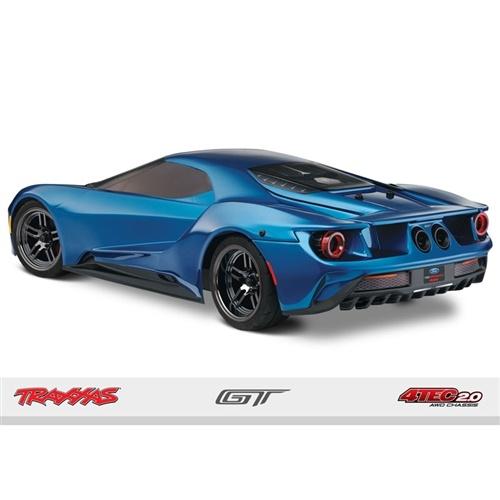 Traxxas 1/10 Ford GT AWD Supercar RTR w/TSM & TQi