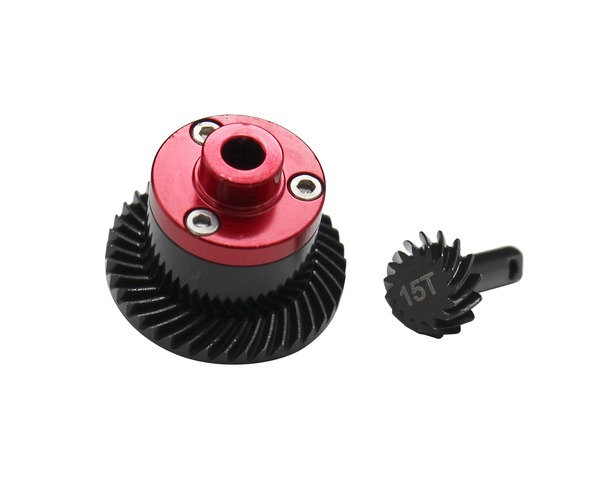 Hot Racing Steel Helical Spiral Differential Gear Set for 1/16 E-Revo, Slash, Summit