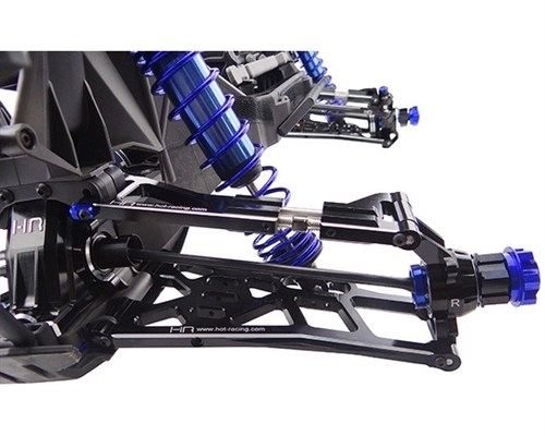 Hot Racing Aluminum Adjustable Upper Suspension Arms (2) for X-Maxx 6S & 8S
