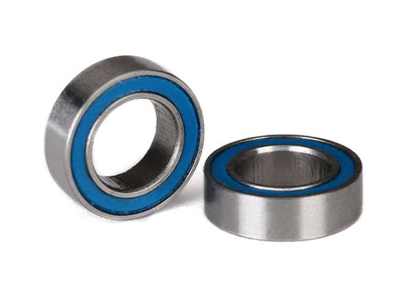 Traxxas Blue Rubber Sealed 6x10x3mm Ball Bearings (2)