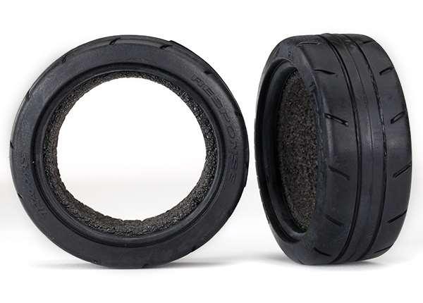 Traxxas 4-Tec 2.0 Front 1.9 Response Tires & Foam Inserts (2)