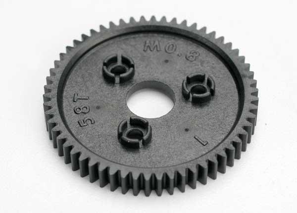 Traxxas 58T Spur Gear: Jato, T-Maxx 3.3