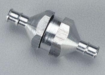 DuBro Inline Aluminum Fuel Filter (Silver)