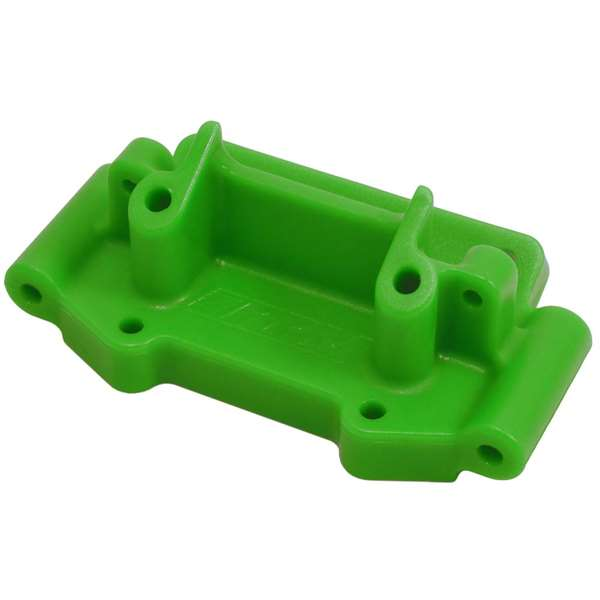 RPM Green Front Bulkhead for Traxxas 2WD