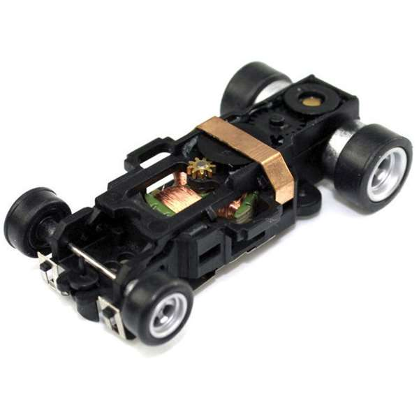 Auto World 4-Gear Complete Replacement HO Slot Car Chassis