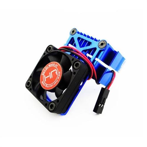 Hot Racing Heat Sink Cooling Fan (Blue) for Rustler, Stampede, Slash
