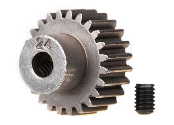 Traxxas 24-Tooth 48-Pitch Pinion Gear w/Set Screw