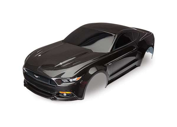 Traxxas 4-Tec 2.0 Ford Mustang GT Black Pre-Painted Body w/Decals