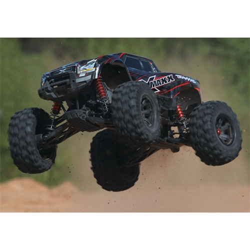 Traxxas X-Maxx 8S 4WD RC Monster Truck Jumping Off Road (77086-4)