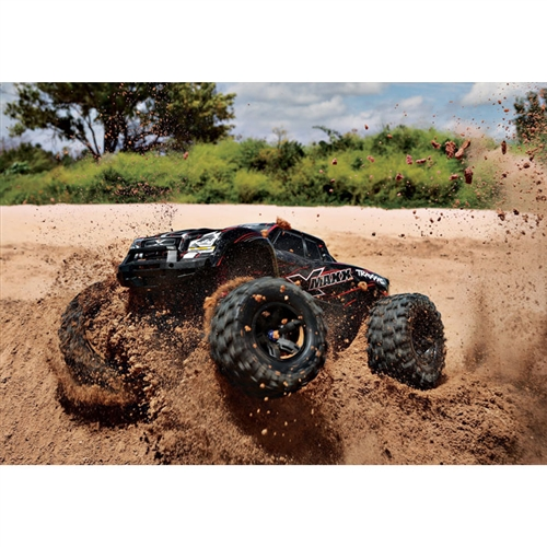 Traxxas X-Maxx 8S 4WD RC Monster Truck in Dirt (77086-4)