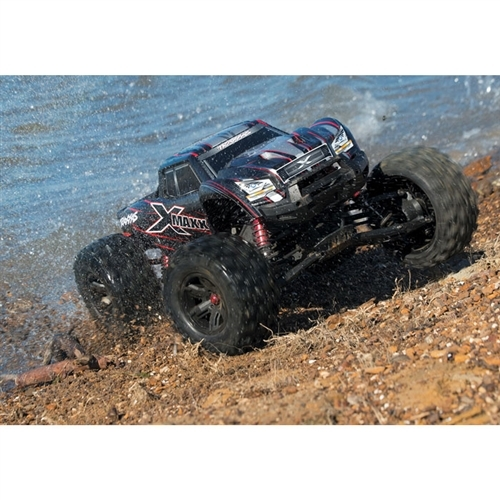 Traxxas X-Maxx 8S 4WD RTR Monster Truck Combo w/4S 6700mAh & EZ-Peak Live DUAL Charger (77086-4)