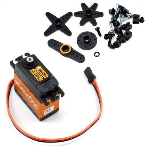 Savox SA-1230SG Monster Torque Steel Gear Digital Servo (500 oz/in)