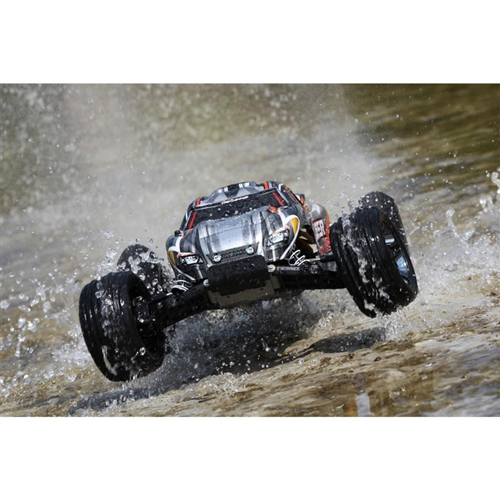 Traxxas Rustler VXL Brushless RTR RC Truck w/TSM (no battery/charger)