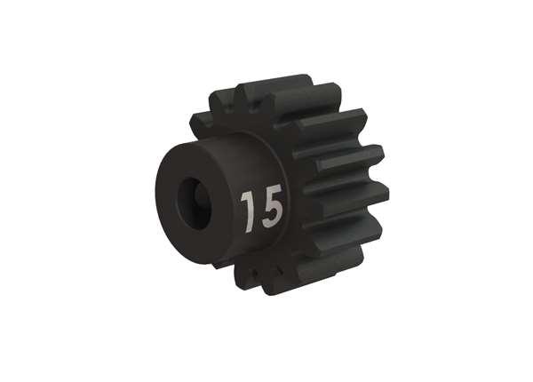 Traxxas 15-Tooth 32P Machined Hardened Steel Pinion Gear w/Set Screw