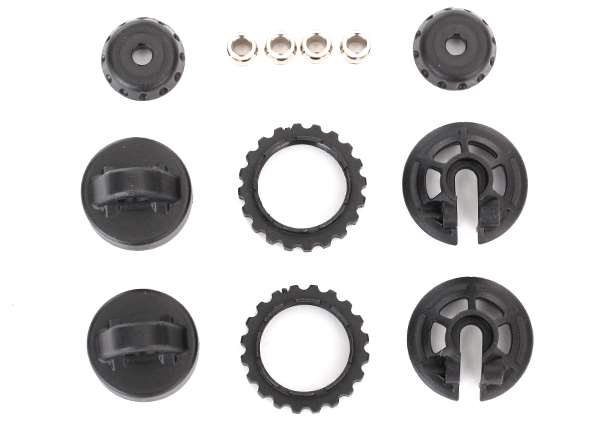 Traxxas GTR Shock Caps, Spring Retainers & Hollow Balls for UDR