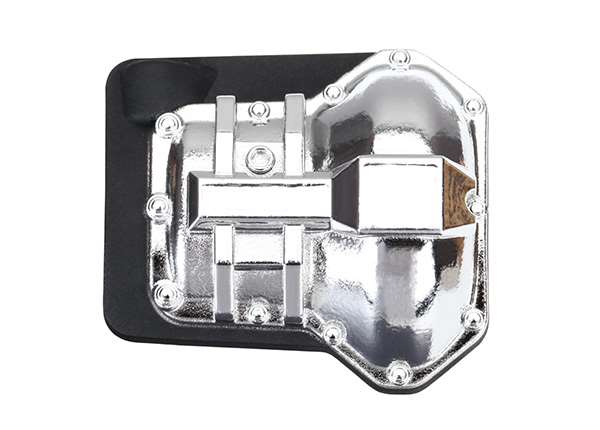 Traxxas TRX-4 Chrome Differential Cover (Front or Rear)
