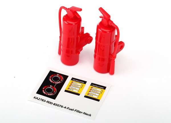 Traxxas Unlimited Desert Racer Red Fire Extinguishers (2)