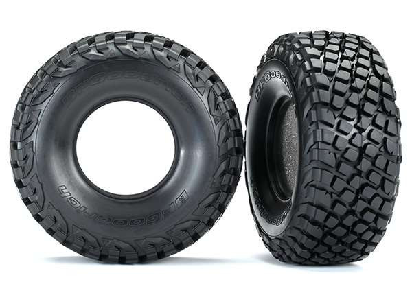 Traxxas Unlimited Desert Racer BFGoodrich Baja KR3 Tires & Foam Inserts (2)