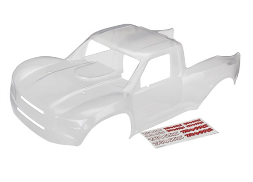 Traxxas Unlimited Desert Racer Clear Body & Decals (Trimmed, requires painting)
