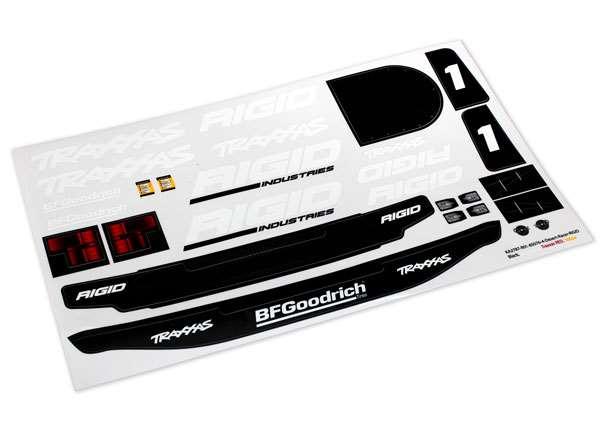 Traxxas Unlimited Desert Racer Rigid Edition Decal Set