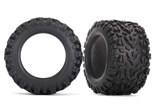 Traxxas E-Revo 2 Talon EXT 3.8 Tires & Foam Inserts (2)
