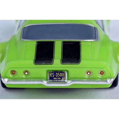 AFX Chevy Camaro SS350 Green Mega G+ HO Slot Car