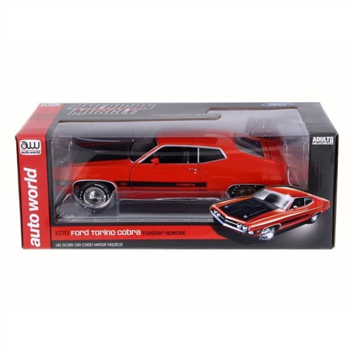 Auto World 1:18 Diecast 1970 Ford Torino Cobra Twister