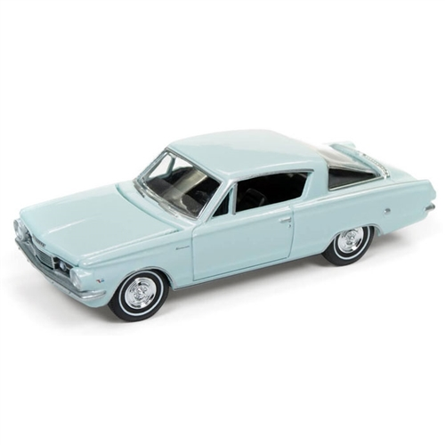 Auto World 1:64 Diecast 1964 Plymouth Barracuda - Light Turquoise
