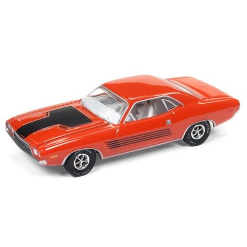 Auto World 1:64 Diecast 1972 Dodge Challenger Rallye - Hemi Orange