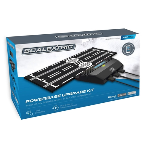 Scalextric 1/32 ARC ONE Powerbase Base, Controllers & Transformer