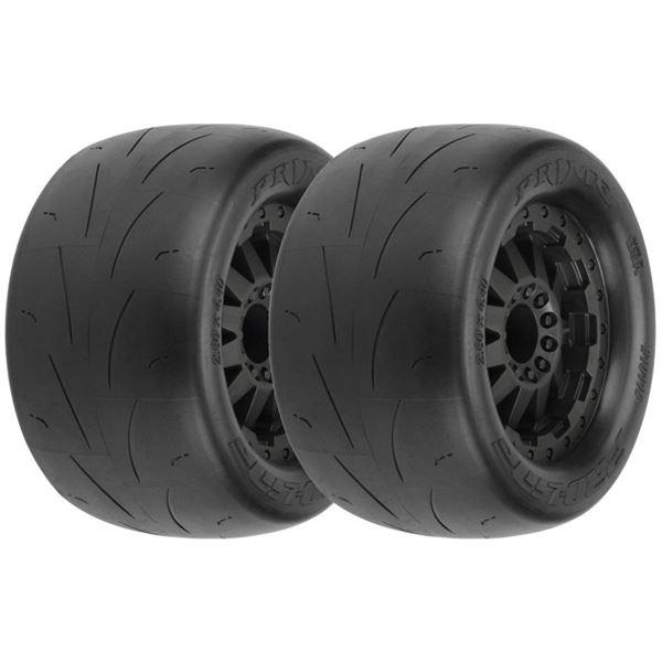 Pro-Line Prime 2.8 Street Tires on F-11 Wheel for 4x4 Fr/Rr, Elec Fr, Nitro Rr