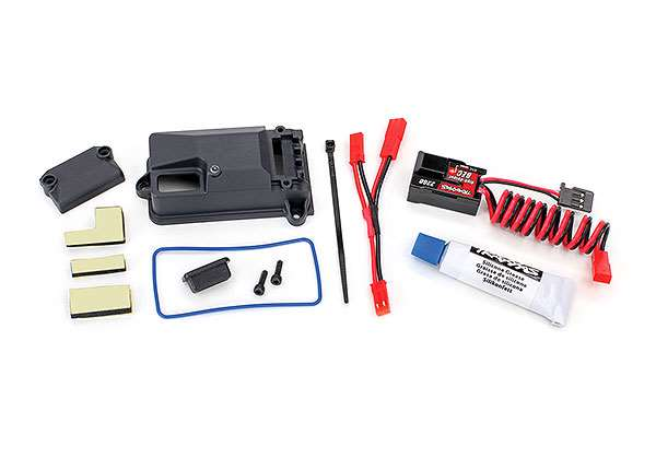 Traxxas Complete High-Voltage BEC & Receiver Box for TRX-4