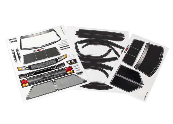 Traxxas TRX-4 Sport Decal Sheet