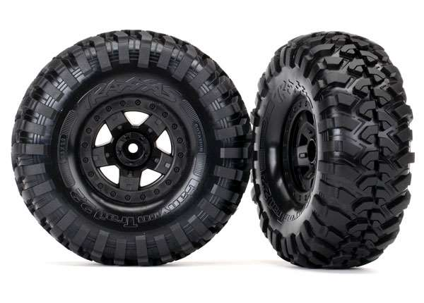 Traxxas TRX-4 Sport Wheels Assembled w/Canyon Trail 2.2 Tires