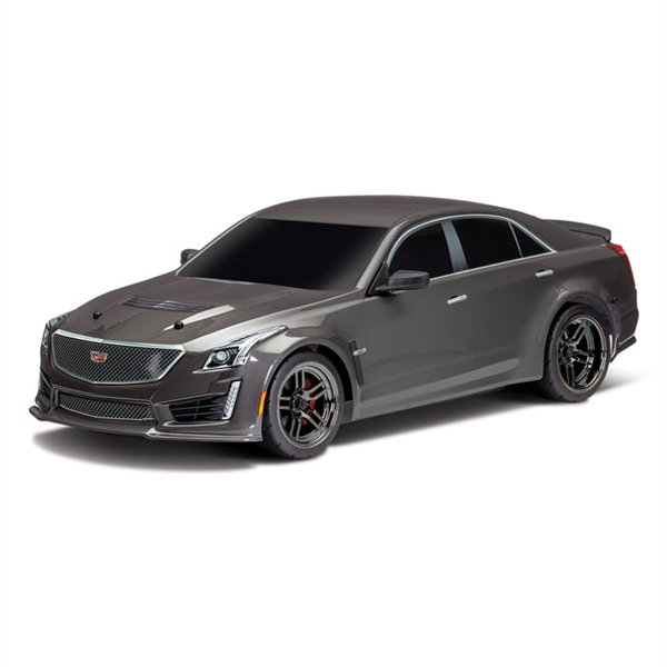 Traxxas Cadillac CTS-V Silver Painted Body for 4-Tec 2.0