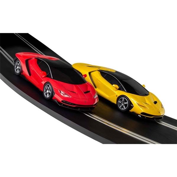 Scalextric Lamborghini Rampage 1/32 Slot Car Race Set