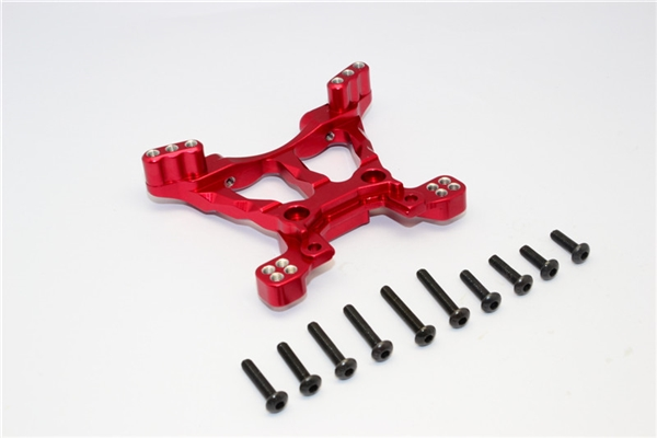 GPM Red Aluminum Front Shock Tower for 4x4 Slash Stampede Rally
