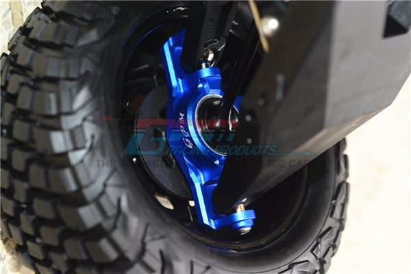 GPM Red Aluminum Front Axle Carriers for UDR