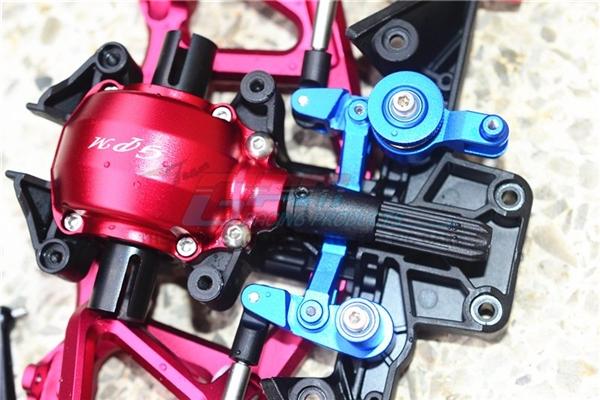 GPM Gunmetal Aluminum Steering Bellcranks & Servo Saver for UDR