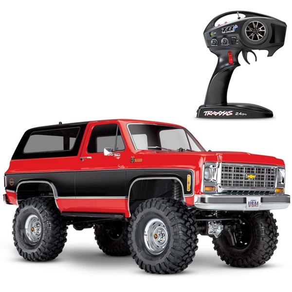 Traxxas TRX-4 Chevy K5 Blazer 4WD RTR Rock Crawler Trail Truck