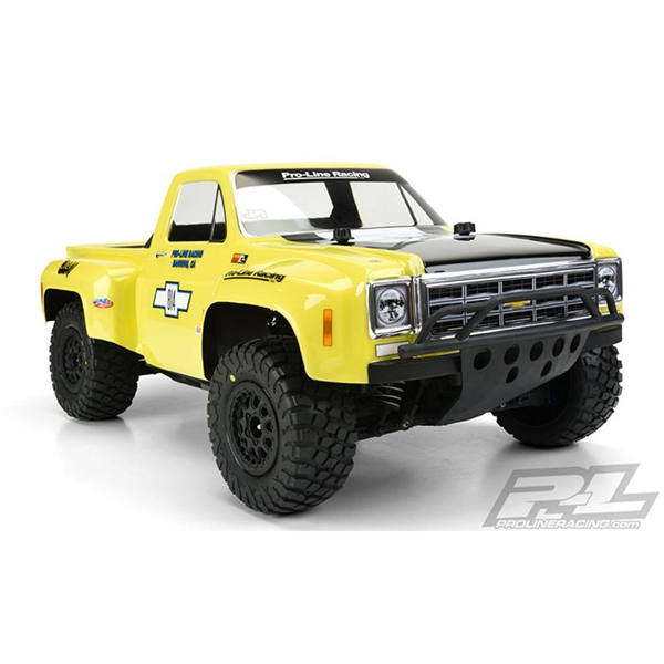 Pro-Line 1978 Chevy C-10 Race Truck Clear Body for SC Trucks