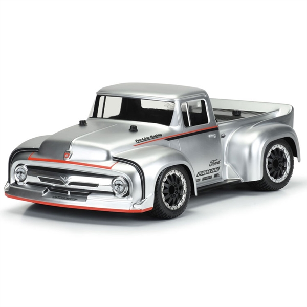 Pro-Line 56 Ford F100 Street Truck Clear Body for Slash 2WD 4x4 & Rally