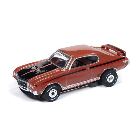 Auto World Thunderjet R25 1972 Buick GSX Brown HO Slot Car