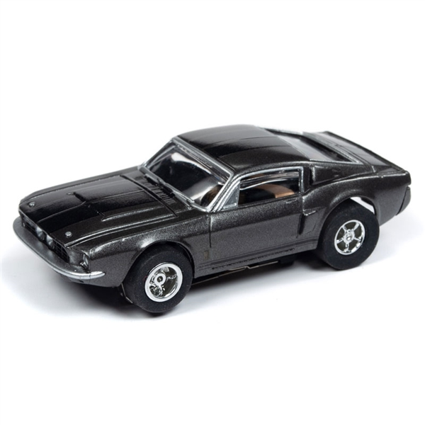Auto World Xtraction R26 1967 Shelby GT 350 (Grey) HO Slot Car