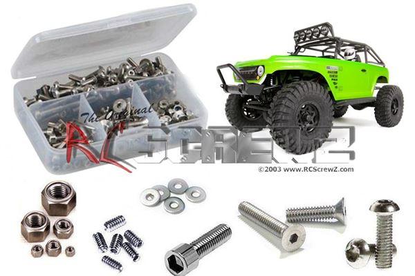 RC Screwz Axial SCX10 DeadBolt RTR Stainless Steel Screw Kit
