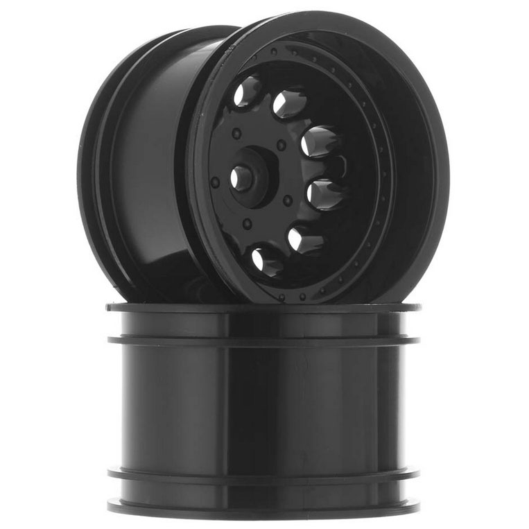 "RPM 'Revolver' 2.2"" Crawler Wheels, Wide Wheelbase (Black)"