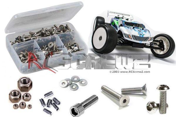 RC Screwz Mugen Seiki MBX-7T Eco Stainless Steel Screw Kit