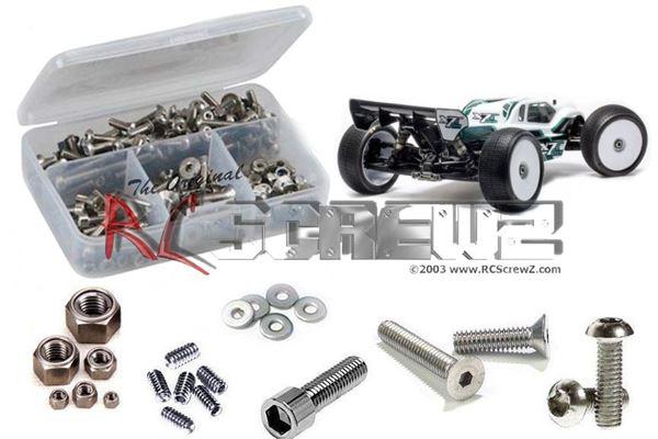 RC Screwz Mugen Seiki MBX7TR Eco Stainless Steel Screw Kit
