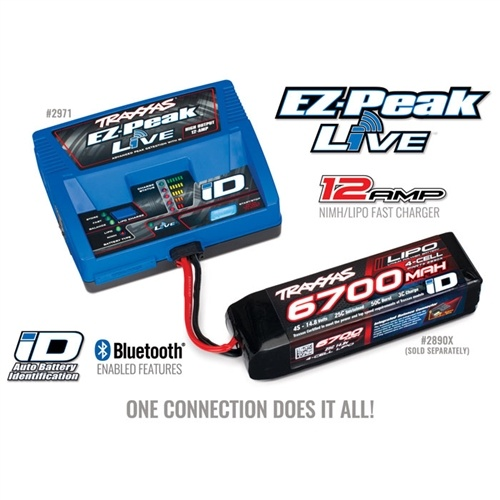 Traxxas EZ-Peak Live 12-Amp ID Charger