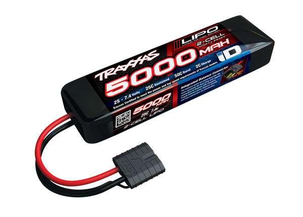 Traxxas 5000mAh 7.4v 2-Cell 25C LiPo Battery (short/137mm)